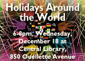 Holidays Around the World at WPL