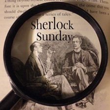 Holmes and Watson ruminate over a case