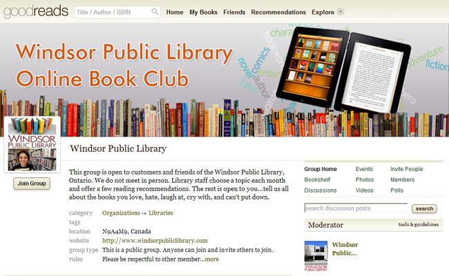 WPL Goodreads Book Club