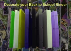 back to school binder