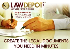 LawDepot now available at Windsor Public Library