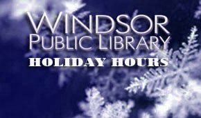 WPL 2013 holiday hours
