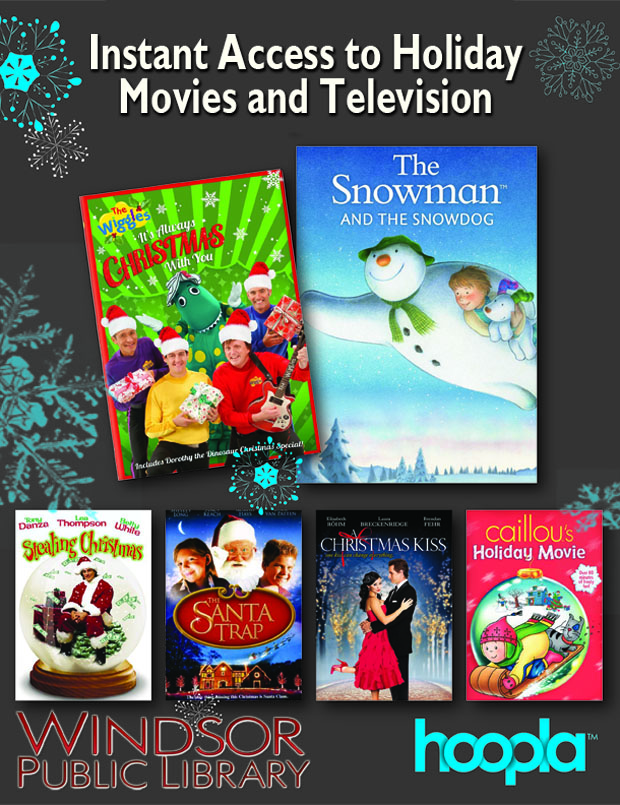 holiday movies and tv on hoopla digital at wpl