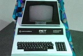 Commodore PET in WPL Display Case