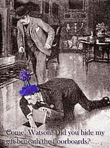 Sherlock seeking Watson's gift
