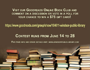 Good reads contest poster