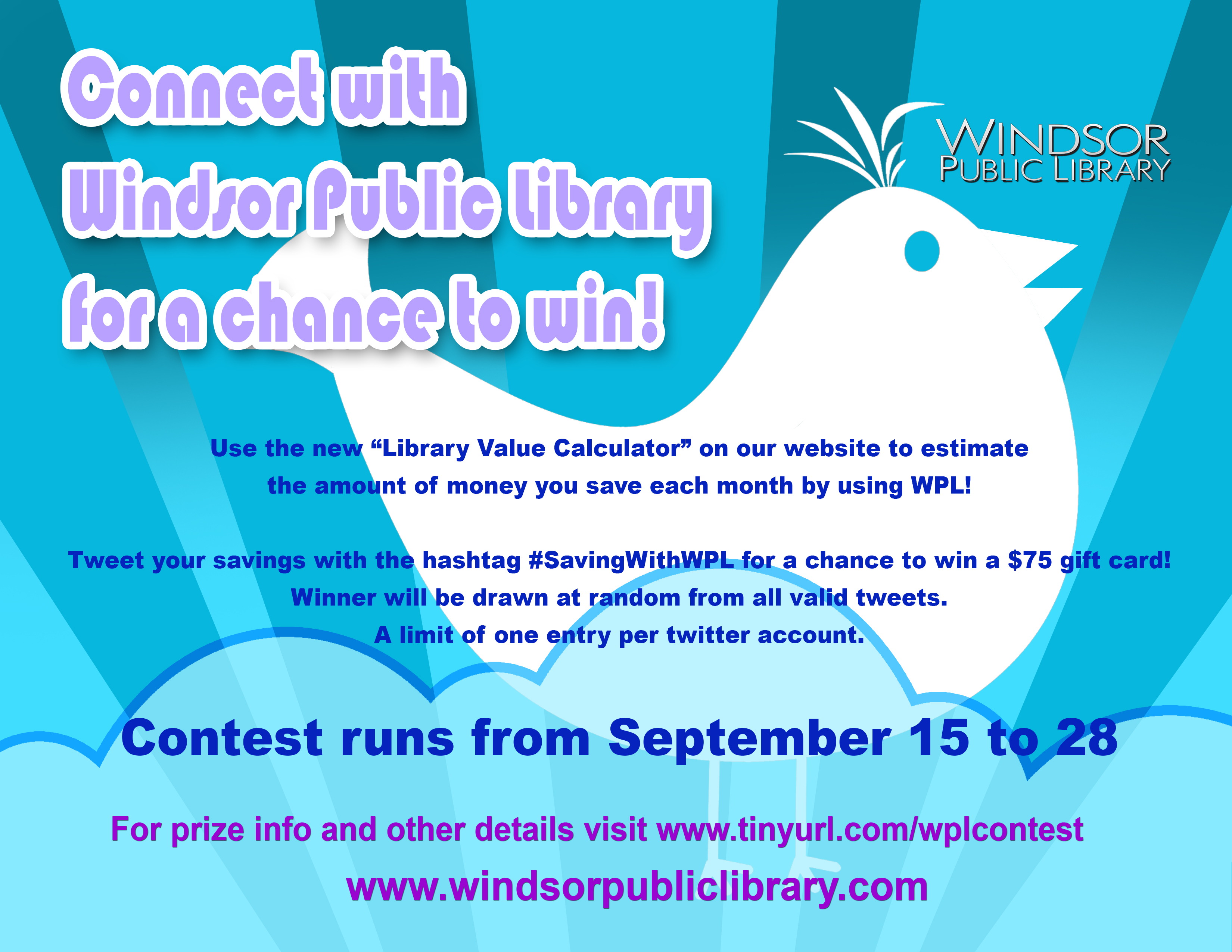 Twitter Contest Flyer