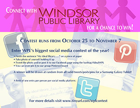 Final Social Media Contest of 2014