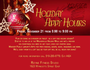 Holiday Appy Hours