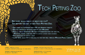 Tech Petting Zoo