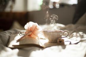 BOOK + TEA
