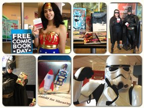 free comic book day collage smaller