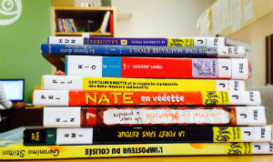 French books for blog
