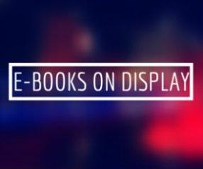 E-BOOKS on Display