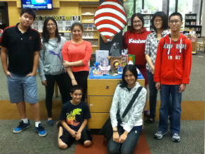 paper craft display volunteers
