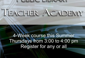 Teacher Academy week one