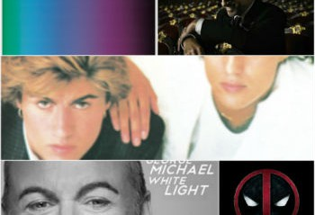 A collage of George Michael covers
