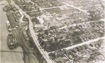 View of docks, Windsor