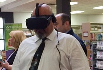 Oculus Rift Virtual Reality System